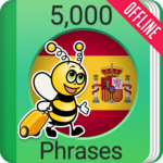 Learn Spanish - 5000 Phrases for pc logo