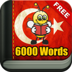 Learn Turkish Vocabulary - 6,000 Words icon