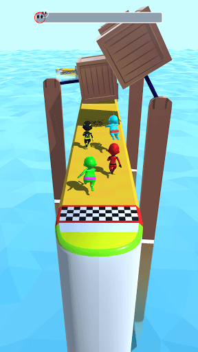 Sea Race 3D - Fun Sports Game Run 3D: Water Subway PC screenshot 1