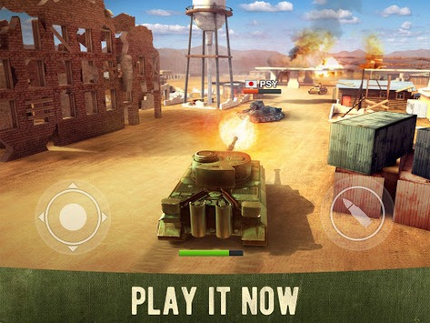 War Machines: Free Multiplayer Tank Shooting Games pc screenshot 1