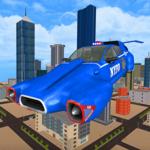 Flying Police Car – Addictive Flying Car game icon