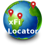 Find iPhone, Android Devices, xfi Locator Lite for pc logo