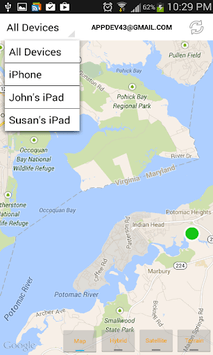 Find iPhone, Android Devices, xfi Locator Lite pc screenshot 2