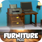 Furniture mods for MCPE for pc logo