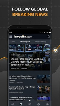 Stocks, Forex, Finance, Markets: Portfolio & News pc screenshot 1