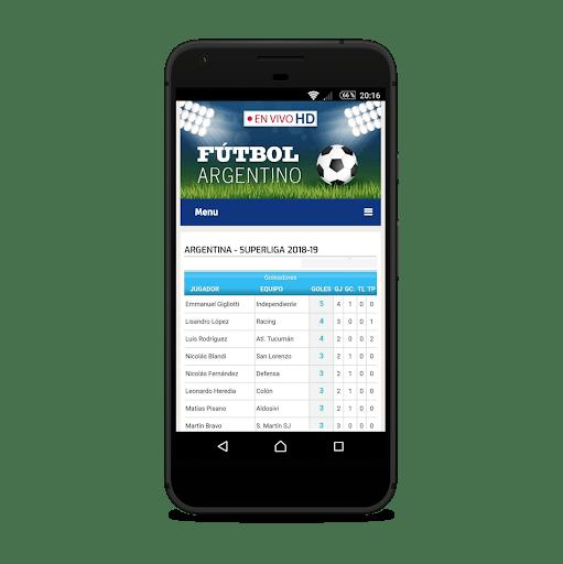 Live Argentine Football PC screenshot 3