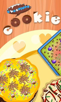 Chocolate Cookie-Cooking games pc screenshot 1