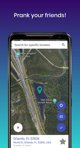 Fake GPS PC screenshot 3