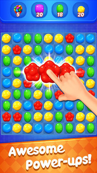 Sweet Candy Witch - Match 3 Puzzle Free Games pc screenshot 1