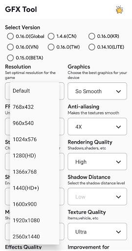 GFX Tool Pro For PUBG PC screenshot 1