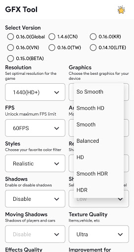 GFX Tool Pro For PUBG PC screenshot 2