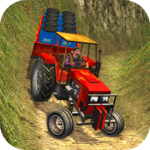 Offroad Tractor Farmer Simulator 2018: Cargo Drive for pc logo