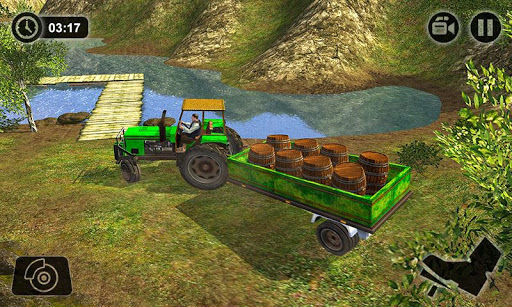 Offroad Tractor Farmer Simulator 2018: Cargo Drive pc screenshot 1