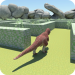 Wild Dinosaur Maze Run World 2019 icon