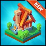 Crafty Town - Kingdom Builder for pc logo
