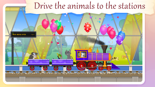 Train for Animals - BabyMagica free pc screenshot 2
