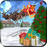 Santa Racing Snow Adventures icon
