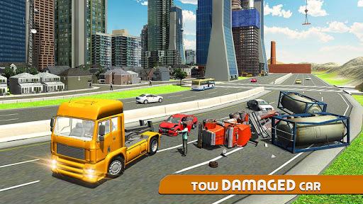 Car Tow Truck Simulator 2016 PC screenshot 1