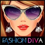 Fashion Diva: Dressup & Makeup for pc logo