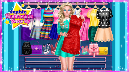 👗 Sophie Fashionista - Dress Up Game pc screenshot 1