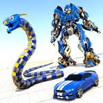 Anaconda Robot Car Transform: War Robot Games for pc logo