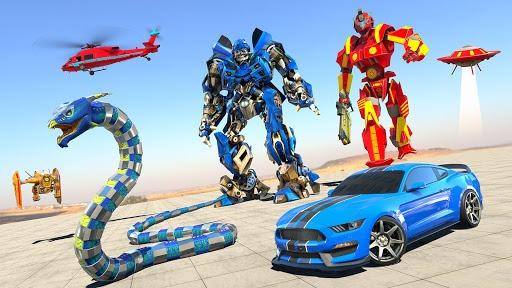 Anaconda Robot Car Transform: War Robot Games pc screenshot 1