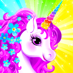 Unicorn Dress Up - Girls Games icon