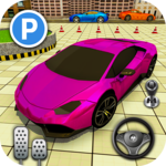 new city street car parking games 2018 icon