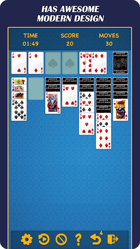 Solitaire Time - Classic Poker Puzzle Game PC screenshot 2