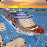 Cruise Ship Tourist Passenger Cargo Transporter icon