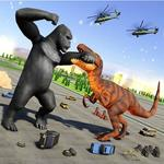 Monster Dinosaur Rampage: Angry King Kong Games for pc logo