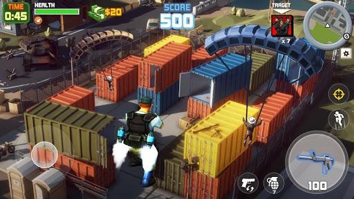 Grand Gangster City: Pixel 3D Gun Crime Game PC screenshot 2