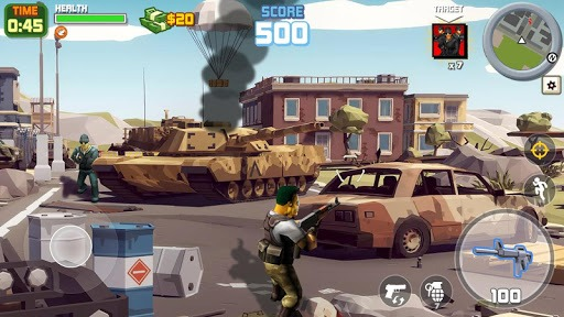 Grand Gangster City: Pixel 3D Gun Crime Game PC screenshot 3