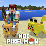 Mod Pixelmon for MCPE for pc logo