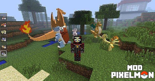 Mod Pixelmon for MCPE pc screenshot 1