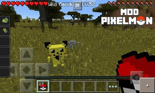 Mod Pixelmon for MCPE pc screenshot 2