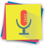 Voice notes - quick recording of ideas icon