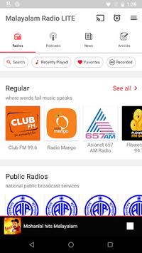 Malayalam FM Radio - Podcast, Malayalam Live News pc screenshot 1