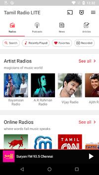 Tamil FM Radio HD Live - Podcast, Tamil Live News pc screenshot 1