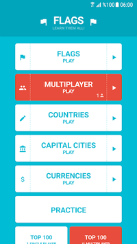 Flags and Capitals of the World Quiz pc screenshot 1