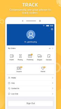 GeekBuying - Gadget shopping made easy pc screenshot 1