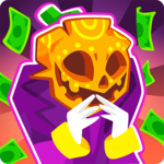 Death Tycoon - Idle Clicker: A money capitalist! for pc logo