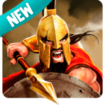 Gladiator Heroes Clash: Fighting and strategy game for pc logo
