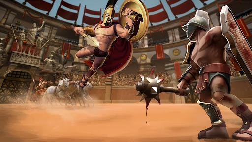 Gladiator Heroes Clash: Fighting and strategy game pc screenshot 1