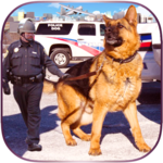 Airport Police Dog Duty Sim for pc logo