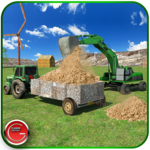 Tractor Farm & Excavator Sim for pc logo