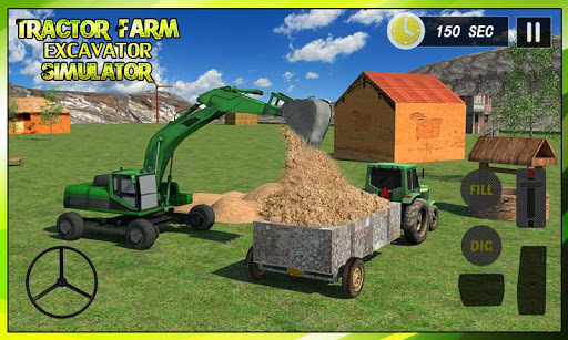 Tractor Farm & Excavator Sim pc screenshot 1