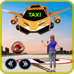 Future Flying Car Robot Taxi Cab Transporter Games icon