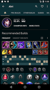 Builds for LoL pc screenshot 2