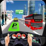 City Coach Bus Parking Drive for pc logo